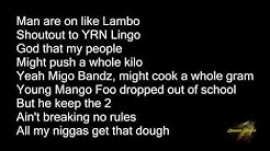 Migos - Fire In The Booth Lyrics