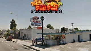 "Spider Loc Fabulous Fast Food Friday""MOMS BURGERS"""