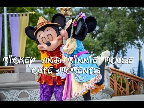 Mickey and Minnie Mouse's Cute/Romantic Moments