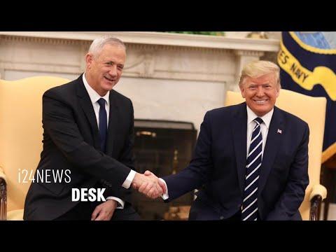 "Netanyahu Rival Benny Gantz's At White House: ""Peace Plan Is A Historic Milestone"""