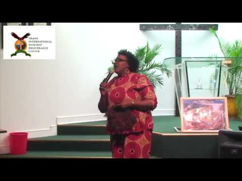 Pastor Wendy Lewis - Ministering in Song