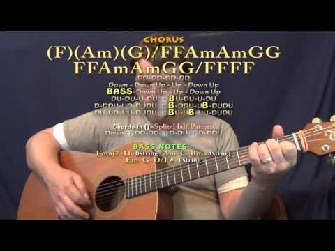 Snake Eyes (Mumford & Sons) Guitar Lesson Chord Chart With TAB