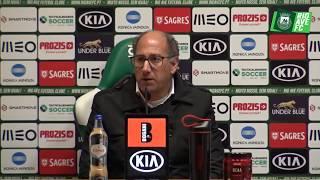 Liga Revelação: Conf. Imprensa pós-jogo contra o SL Benfica