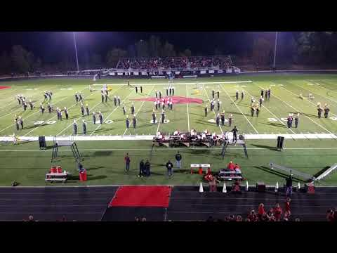 Cedar Springs High School Marching Band Homecoming Performance