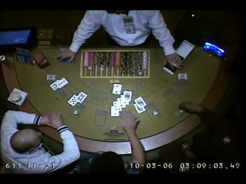 Greektown Casino in Detroit cheats a card counter and other player at blackjack