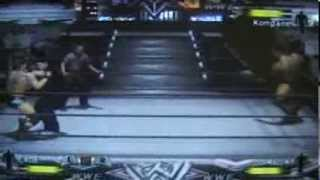 WWE Day of Reckoning - Dudley Death Drop (3D) Through a Table