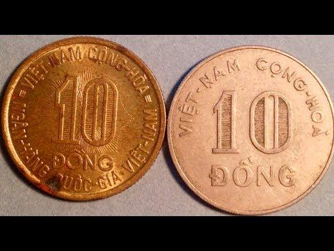 10 Vietnam Dong Coin 1964 & 1974