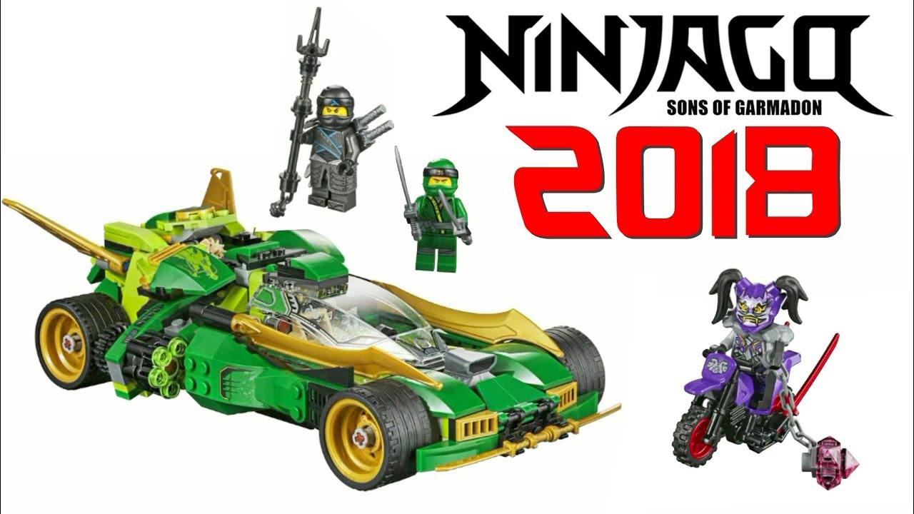 Lego Ninjago 2018 Ninja Nightcrawler Set 70641 Official Images New