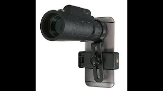 35x50 HD Optical Monocular Telescope Zoom Phone Lens Review