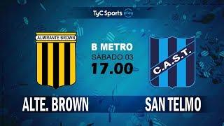 Almirante Brown vs San Telmo full match