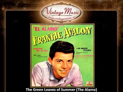 Frankie Avalon -- The Green Leaves of Summer (The Alamo) (VintageMusic.es)