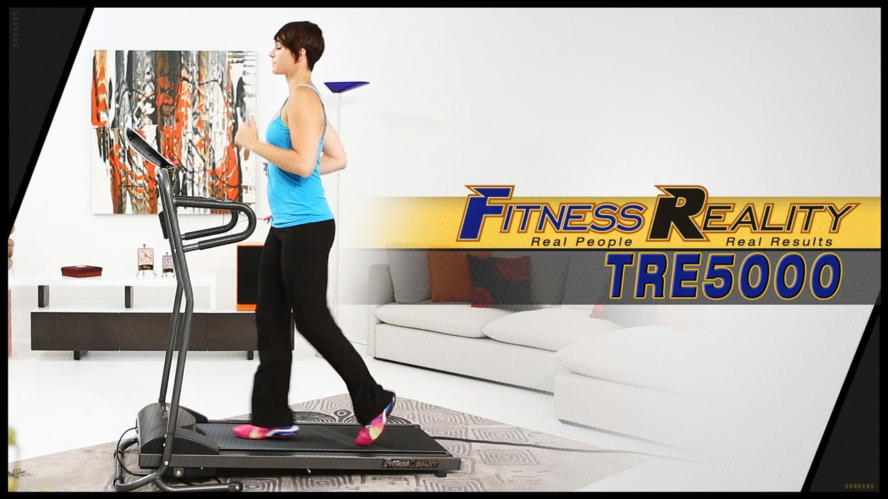 FITNESS REALITY TRE5000 Compact Slim Line Running and Walking ...