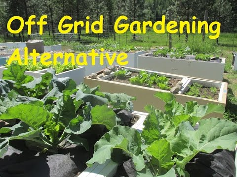 Off Grid Living: Alternative Gardening Methods