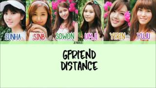 Artist: gfriend song: distance (한 뼘) album: lol -credits- korean: liriklagurinalpurba.blogspot rom: eng: kbeat color code: color...