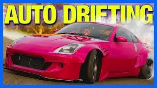 Forza Horizon 4 : How Hard Is Automatic Drifting?!?