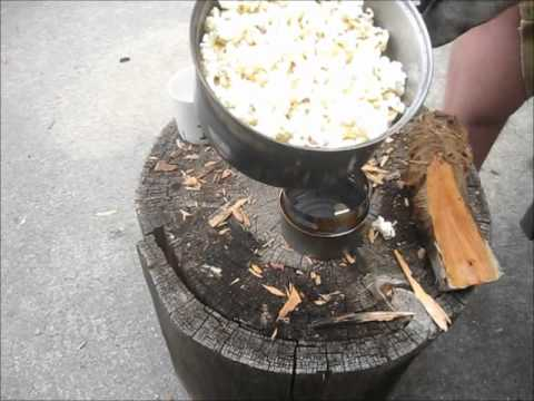 Popcorn On The Blue Hill UL Stove