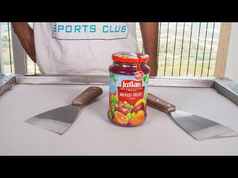 Kissan Mixed Fruit JAM ICE CREAM ROLLS - SATISFYING ASMR