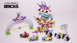 Lego Friends 41352 The Big Race Day Speed Build