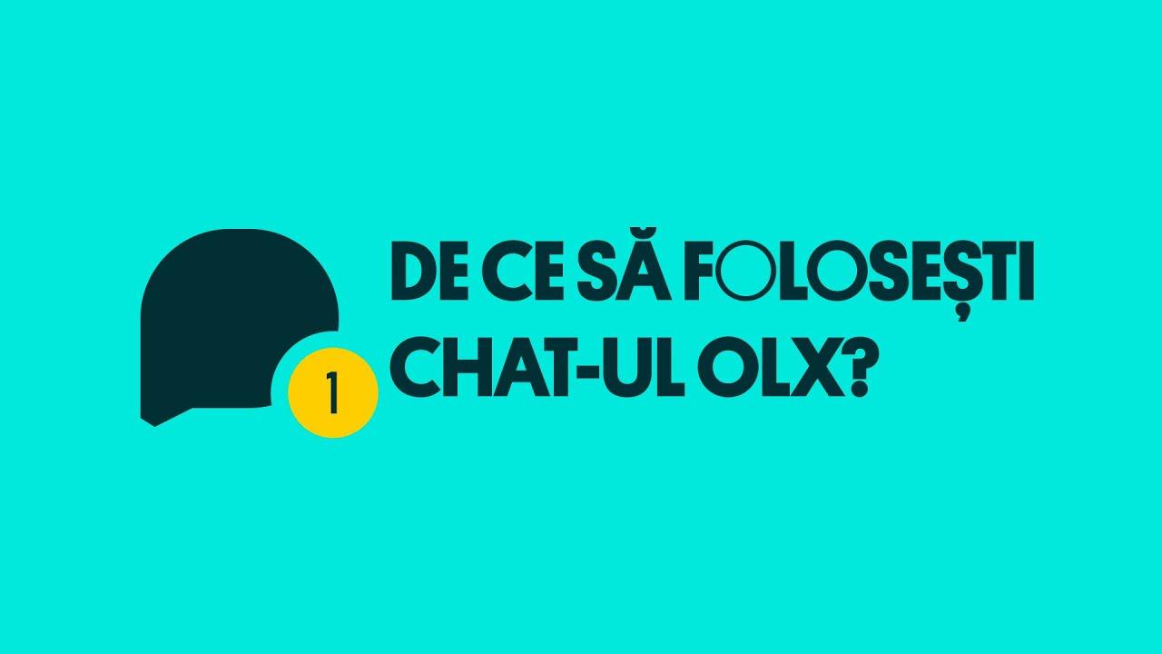 Descoperă noul chat OLX