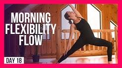 10 min Wake-Up Yoga For FLEXIBILITY – Day #18 (10 MIN MORNING YOGA)