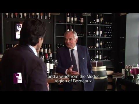 Understanding Medoc wines with Bernard Magrez