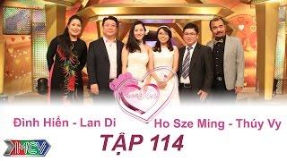 Đình Hiển - Lan Di và Ho Sze Ming - Thúy Vy | VỢ CHỒNG SON | Tập 114 | 151011