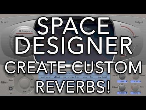 Logic Pro X - Space Designer - Create Custom Reverbs!