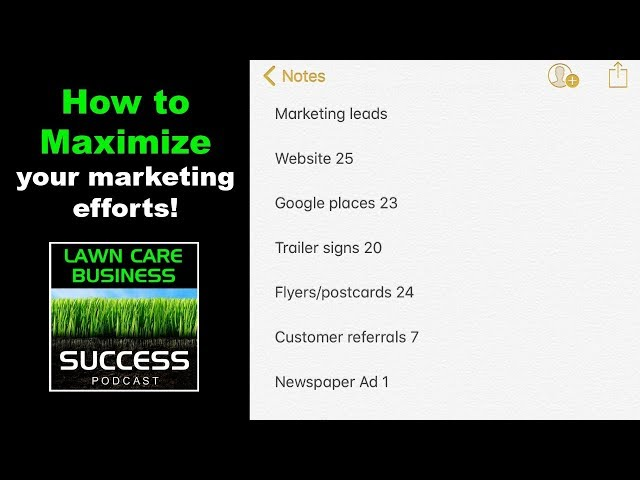 How to maximize your marketing efforts