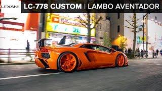 Custom Body Kit Lamborghini Aventador In AKIHABARA: LEXANI WHEELS (2019)