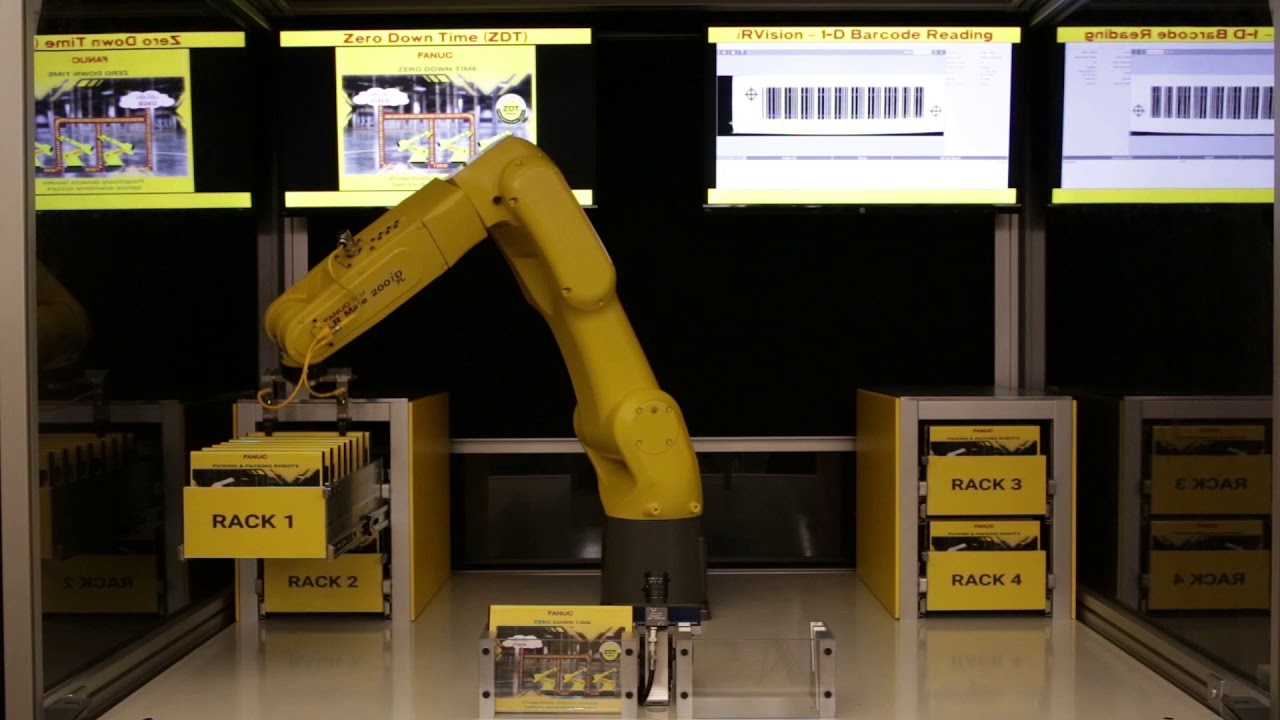 Use PLCs to program FANUC robots using Add-on Instructions (AOIs)!
