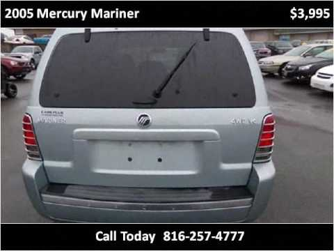 2005 mercury mariner used cars independence mo youtube. Black Bedroom Furniture Sets. Home Design Ideas