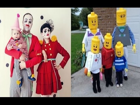 sc 1 st  YouTube & Funny Family Halloween Costume Ideas 2014 - YouTube