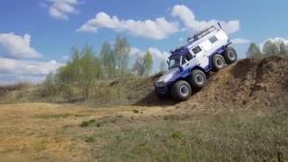 The World's ULTIMATE Off-Road 8x8 Truck | All Terrain Vehicle