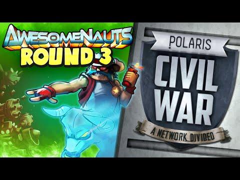 Polaris Civil War: Awesomenauts - Turret Charge!