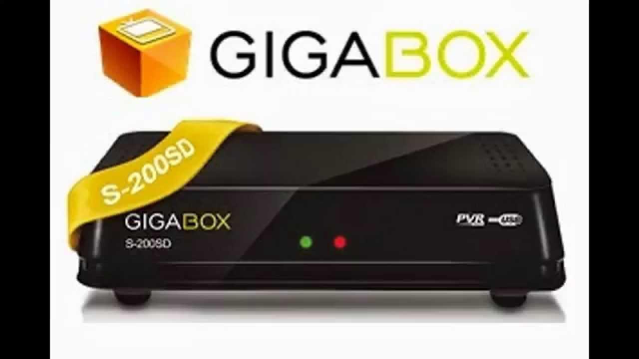 Resultado de imagem para GIGABOX S200 SD