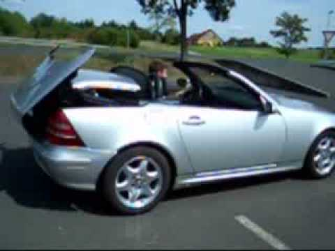 mercedes slk r170 top comfort module youtube. Black Bedroom Furniture Sets. Home Design Ideas