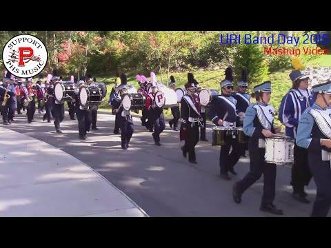 PHS Marching Band Mashup Video: URI Band Day 2015