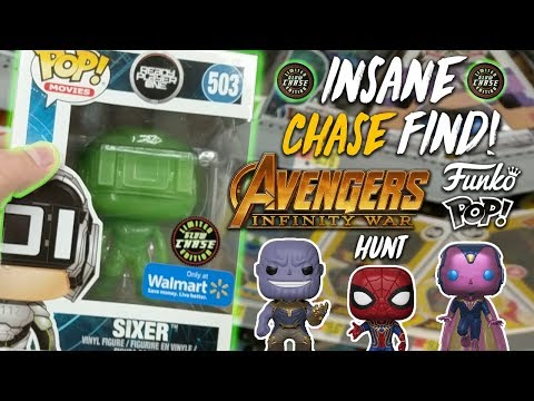 Insane Chase Find! Avengers Infinity War Funko Pop Hunt