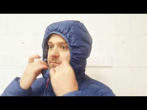 Mountain Equipment Skyline Hooded Down Jacket Close Up