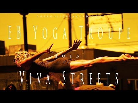 EB Yoga Troupe Exhibition at Viva Streets Festival 2015