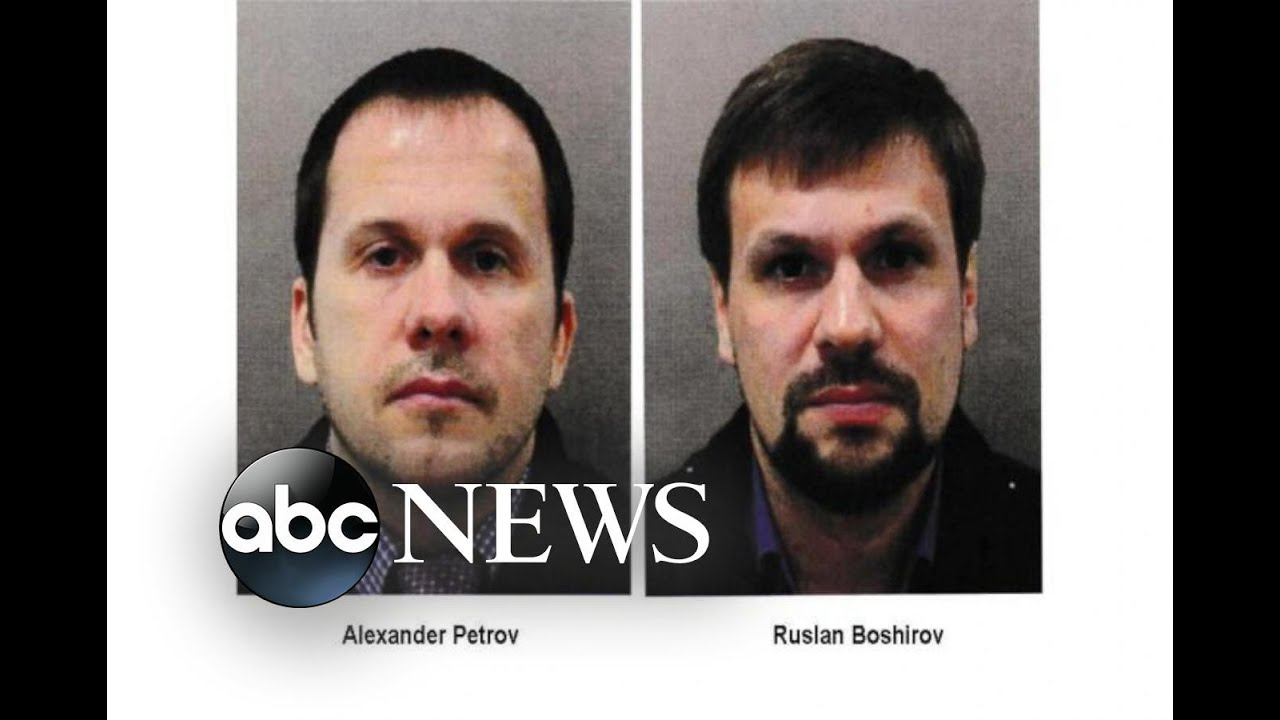 2 Russians suspected in poisoning of ex-spy, daughter