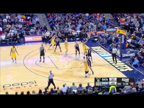 Brooklyn Nets vs Denver Nuggets | February 24, 2017 | NBA 2016-17 Season
