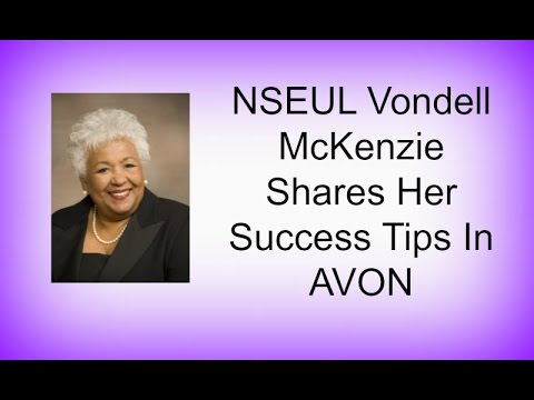 AVON Vondell McKenzie Shares Her Success Tips In AVON