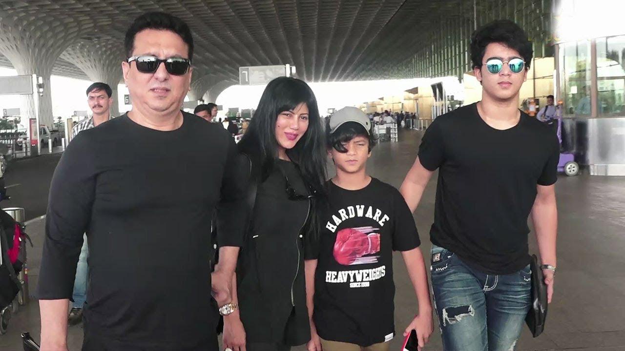 Sajid Nadiadwala With Family-Wife & Sons At Airport - YouTube  Sajid Nadiadwal...
