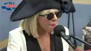 Lady GaGa - Paparazzi Acoustic Version (Live @ 95.8 Capital FM Radio)