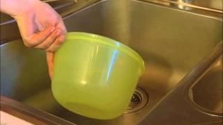 Ucpaný kuchyňský odpad