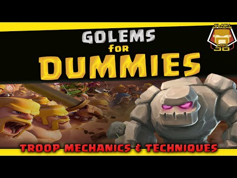How to use the Golem | Basics Guide and Pro Tips | Clash of Clans
