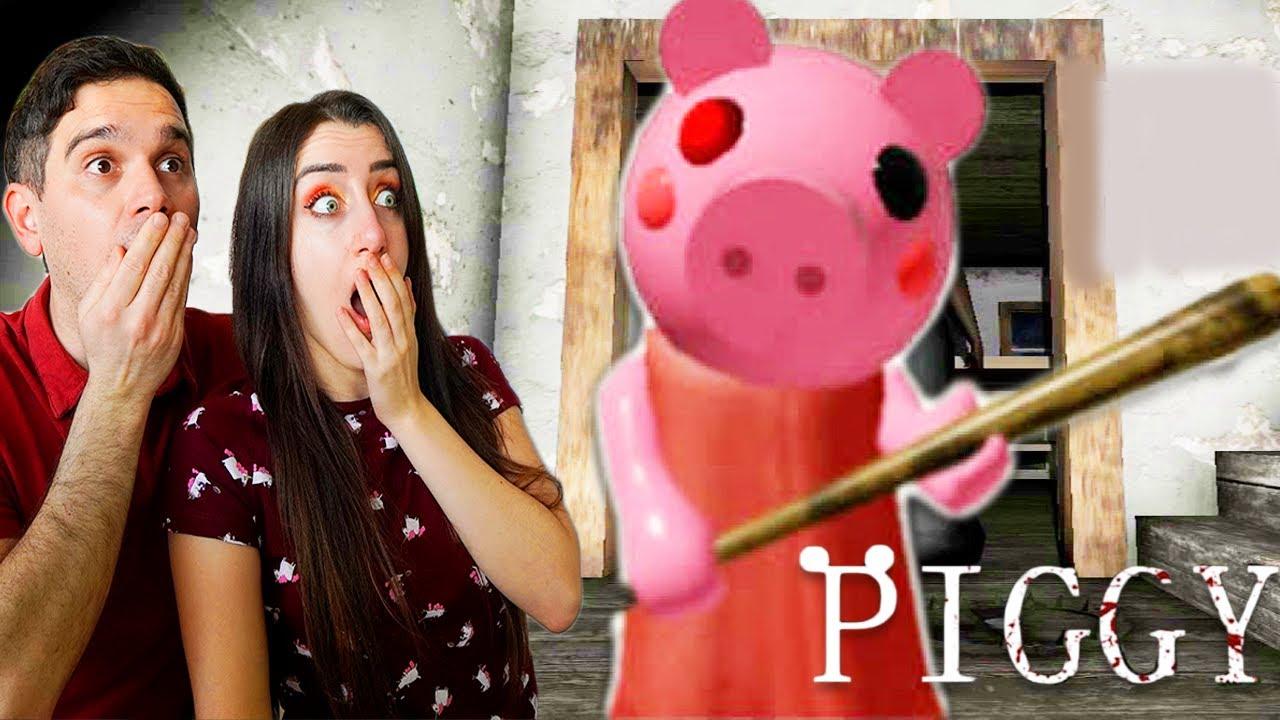 GIOCHIAMO A PIGGY GRANNY!!! NUOVO GIOCO PAUROSO!!!