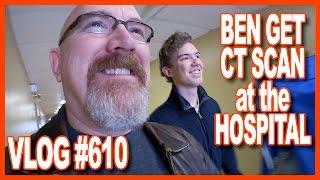 Ben's Hospital CT Scan, Tim Horton's, ECG Test, Blood Pressure, Paul's, Climbing - Ken's Vlog #610
