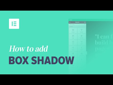 Add Drop Shadow Effects to Your WordPress Website Using Elementor Page Builder